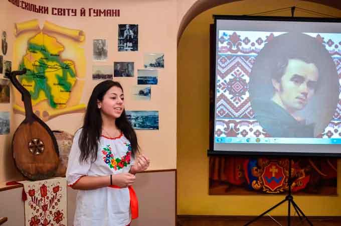 В УДПУ визначили переможців Регіонального конкурсу читців поезії Т.Г. Шевченка