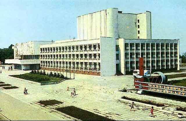 Площа «Дружби народів» у Черкасах, старе фото