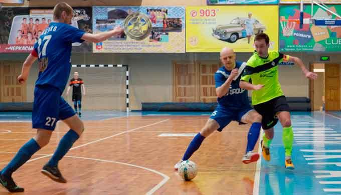 У Черкасах відбулася перша гра плей-офф Чемпіонату України з футзалу серед ВНЗ