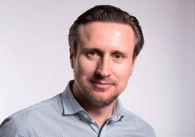 черкаський підприємець, засновник і власник компанії «Newton» Юрій Котолуп