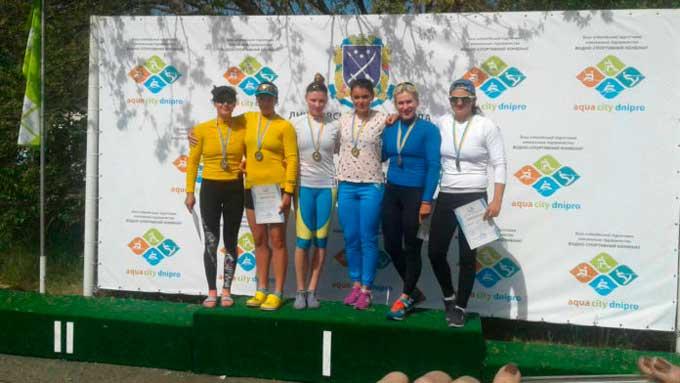Уманська веслувальниця здобула «золото» на Всеукраїнських змаганнях