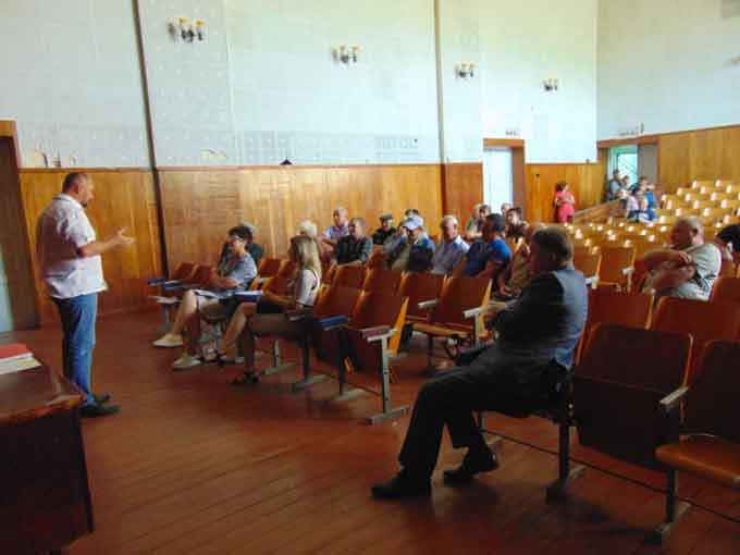 У Рижанівці та Ризиному знову обговорювали питання створення ОТГ