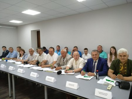 Майже половина об'єднаних громад Черкащини одночасно отримала землю