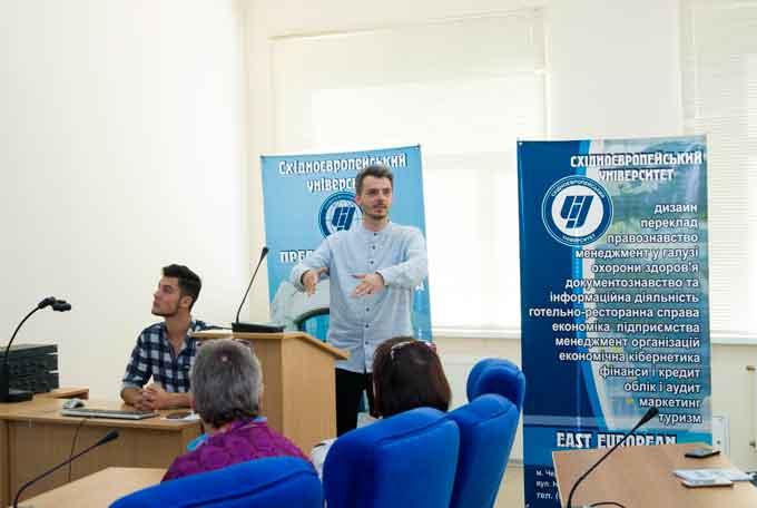 У черкаському виші провели Workshop готельно-ресторанного бізнесу та туризму