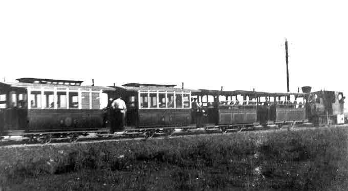 Паровий трамвай в Одесі