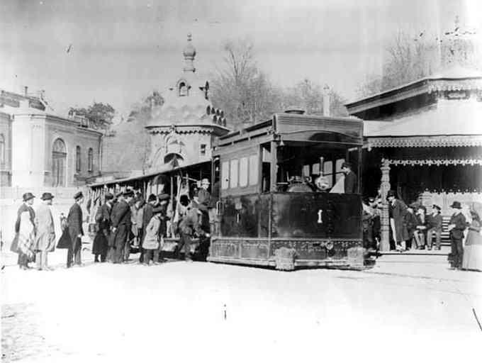 Паровий трамвай у Києві (1892 рік)