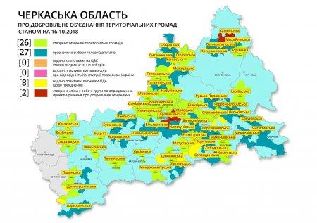 Більшість новостворених ОТГ Черкащини ризикують лишитися без фінансування –  якщо завтра обласна рада вкотре «профутболить» перспективний план
