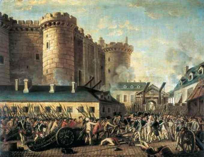 Бастилія – фортеця у Парижі та королівський замок. За сумісництвом – політична тюрма
