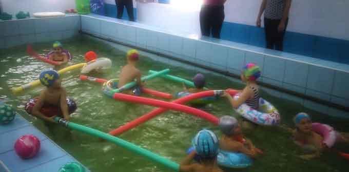 В черкаському дитсадку проведена повна реконструкція басейну (відео)