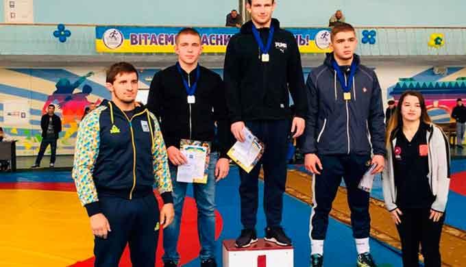 Курсант ЧІПБ виборов «золото» на Всеукраїнському турнірі з вільної боротьби