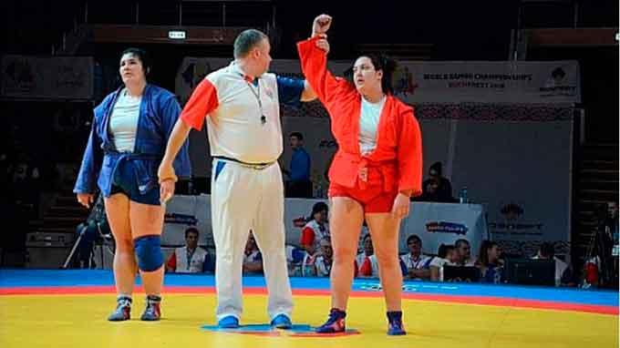 Викладач ЧІПБ Анастасія Сапсай – бронзова призерка Чемпіонату світу з самбо
