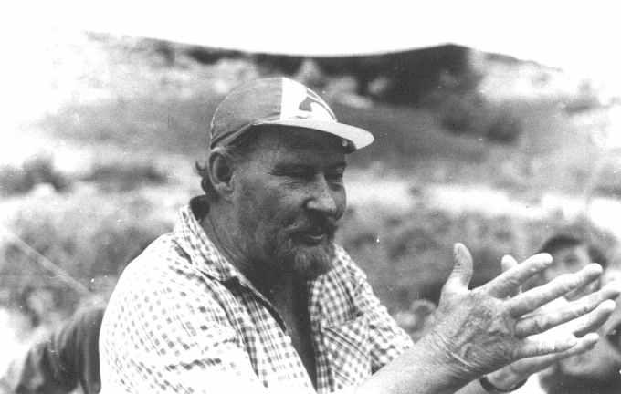 Керівник української експедиції Ігор Тацл