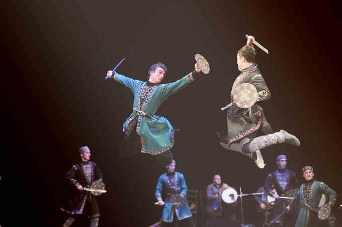 Державний ансамбль пісні і танцю Грузії «Kutaisi» виступить у Черкасах з новою програмою