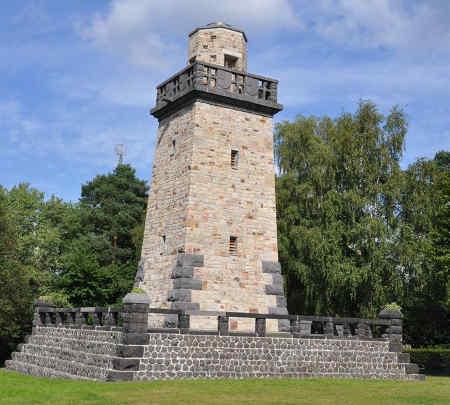 Башта Бісмарка в місті Альтенкірхен, Німеччина