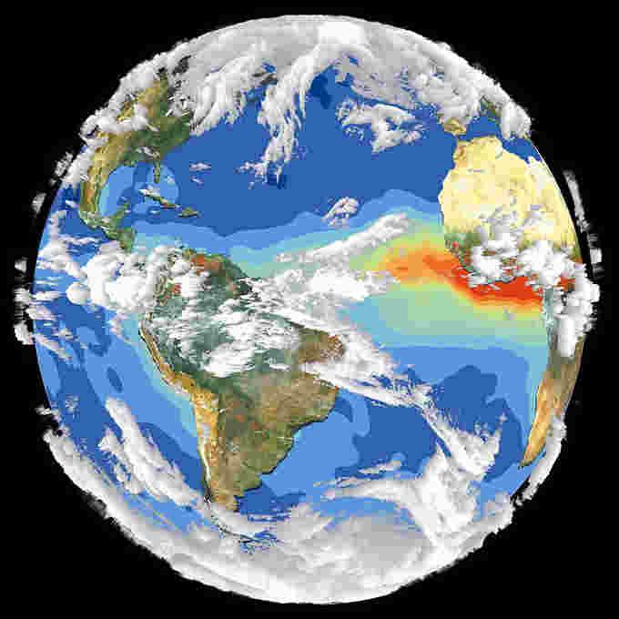 земна куля, зміна клімату