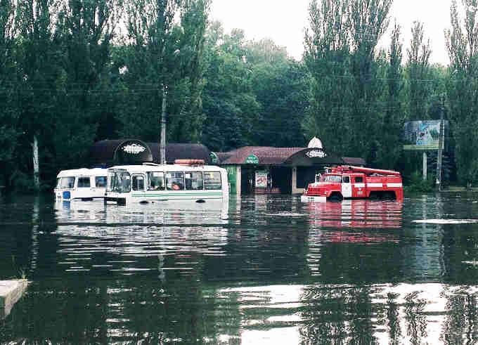 потоп у Черкасах