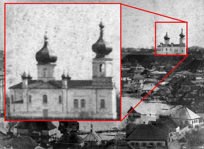 Замість хрестів Троїцька церква у Черкасах раніше мала антени - краєзнавець