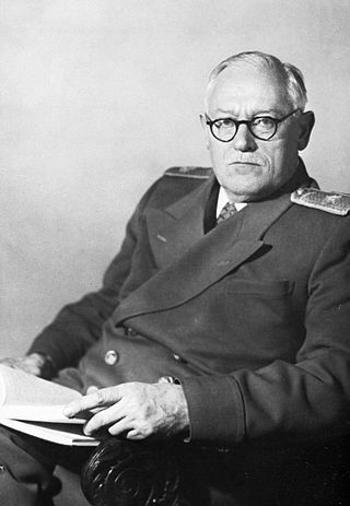 Міністр закордонних справ СРСР Андрій Вишинський