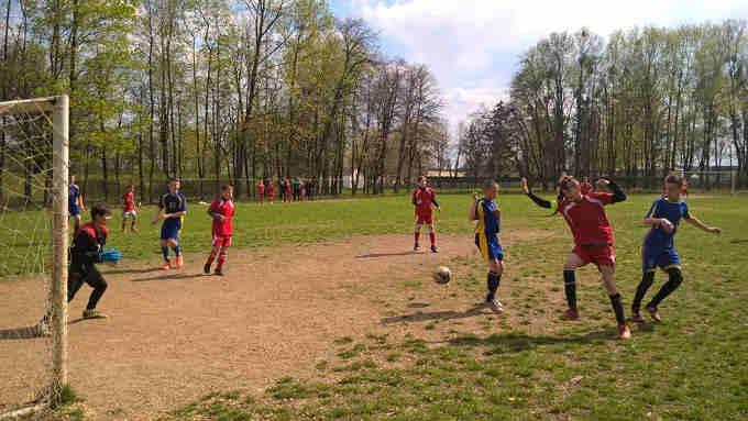 У Маньківці відбулись змагання з футболу на призи клубу «Шкіряний м'яч»