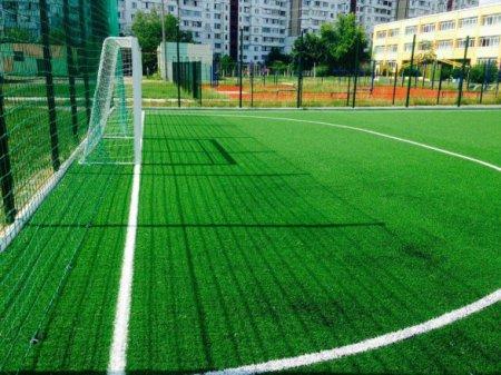 У Стеблівських школярів скоро з'явиться сучасне міні- футбольне поле