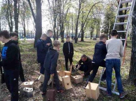 Христинівські школярі провели екологічну акцію