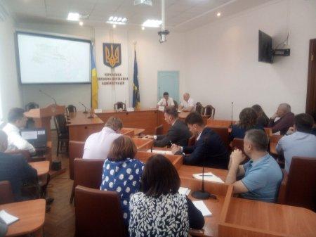 На Черкащині обговорили проект адмінтерустрою громад та районів