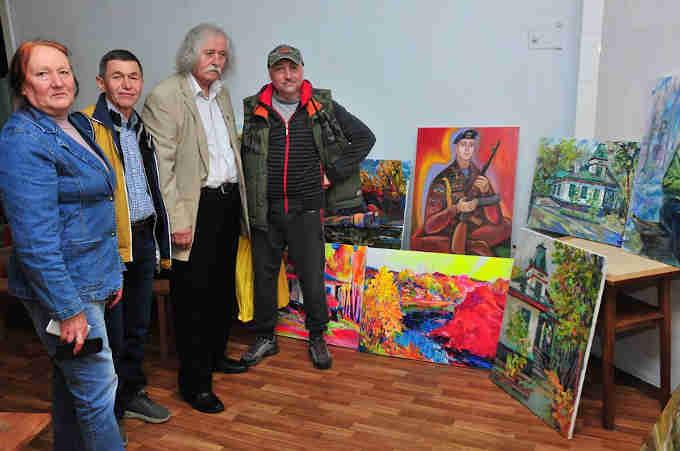 У Кам'янському заповіднику відбувся завершальний творчий вечір митців – учасників пленеру художників