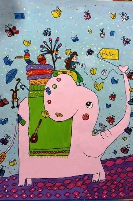 Малюнок черкаської дівчинки у Японії відзначили Призом Канагави