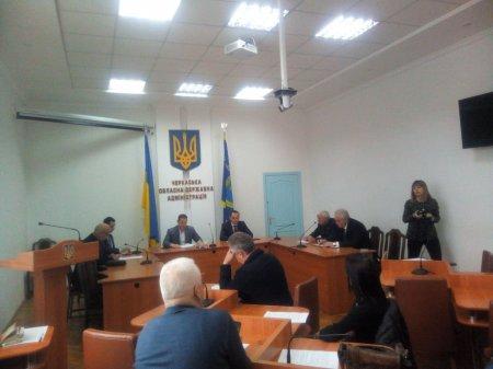Новий голова Черкаської ОДА чекає пропозицій підприємців для розвитку області