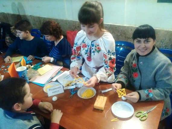 Новорічні майстер-класи відбулися у Черкасах