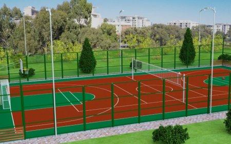 На Черкащині споруджуватимуть багатофункціональні спортивні майданчики