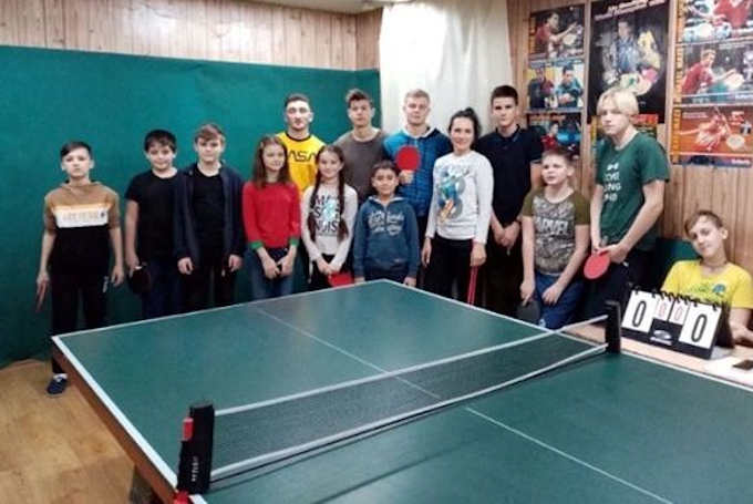 У Черкасах відбувся дитячий турнір з настільного тенісу