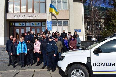 У Матусівській громаді відкрилась поліцейська станція