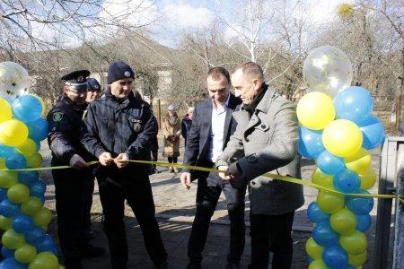 У Красносіллі урочисто відкрито поліцейську станцію