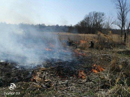 Лип'янська ОТГ активізує боротьбу з підпалами на території громади