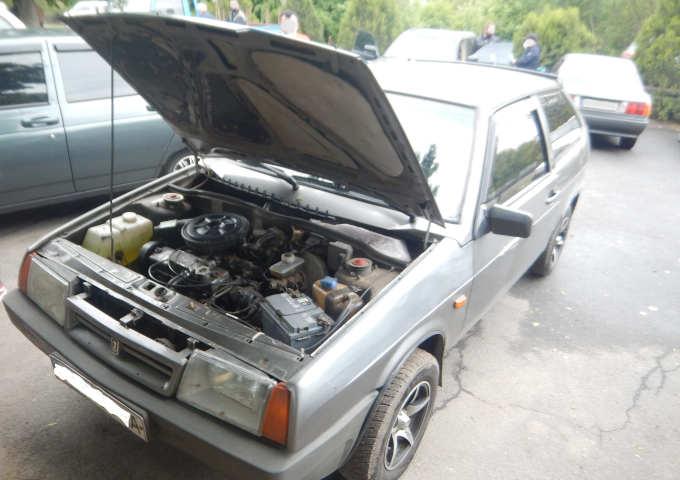 ВАЗ-2108 з перевареним номером кузова виявили в сервісному центрі МВС Звенигородки