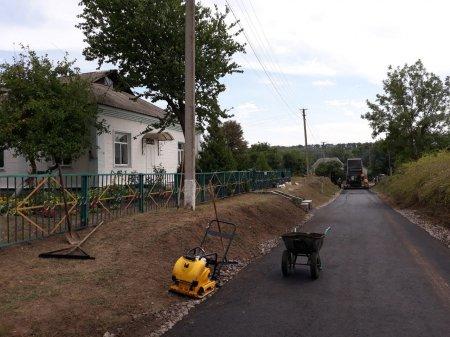 У Балаклеївській громаді інтенсивно ремонтують дороги