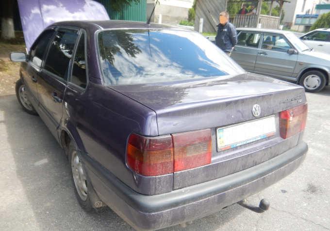У Звенигородці знову виявлено автомобіль з перебитим номером кузова