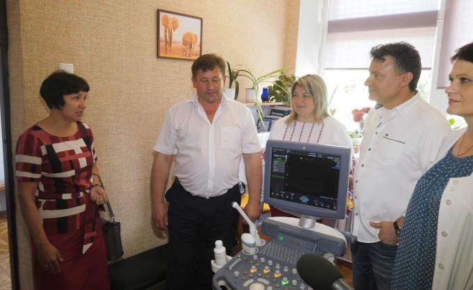 Жашківська ЦРЛ отримала нове медичне обладнання