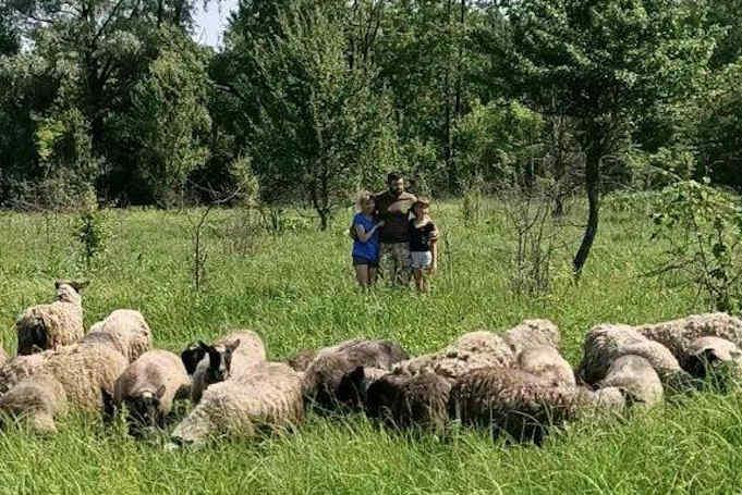 Повернувшись зі Сходу країни, колишній військовий зайнявся фермерством на Черкащині