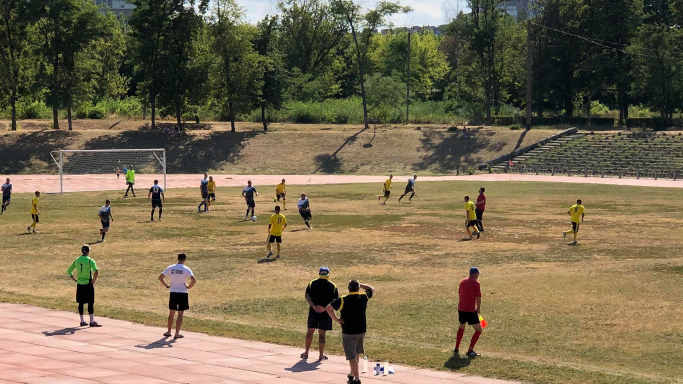 Команди зі Смілянщини перемогли у двох футбольних матчах