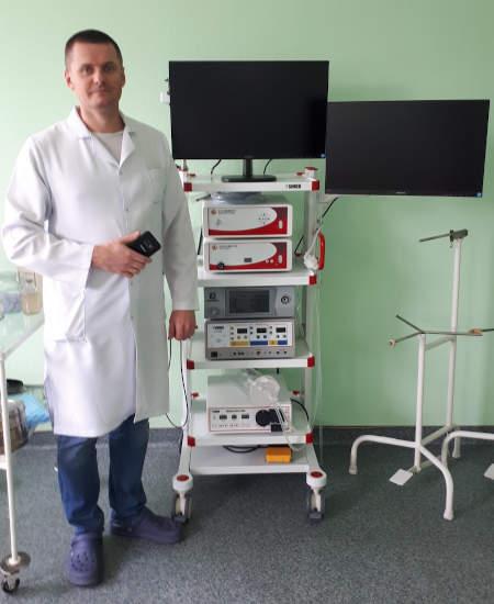 Для Шполянської райлікарні придбали унікальне лапароскопічне обладнання (фото)