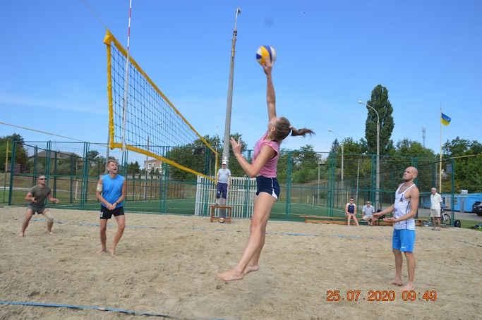 У міському чемпіонаті Золотоноші визначився переможець з пляжного волейболу