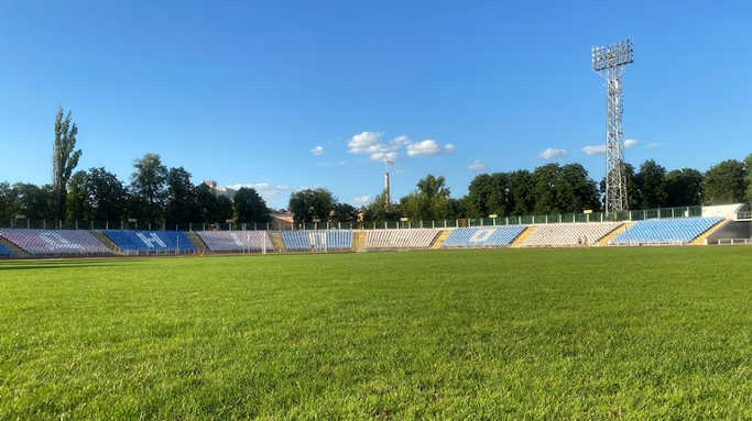 Центральний стадіон міста Черкаси (що на вулиці Смілянській, 78)