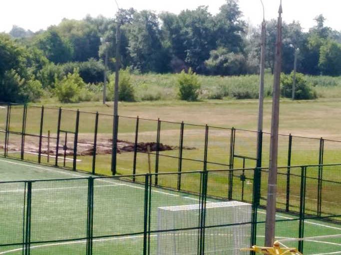 У Золотоноші розпочато реконструкцію стадіону дитячо-юнацької спортивної школи