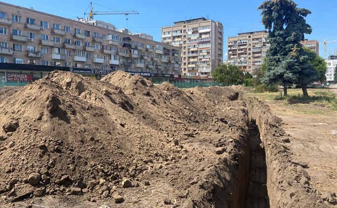 У черкаському сквері «Юність» після реконструкції висадять платани та магнолії