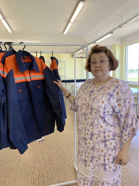 На «Черкаситеплокомуненерго» самостійно шиють спецодяг для працівників