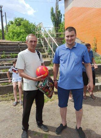 У Балаклеївській громаді відбувся футбольний турнір пам'яті АТОвця Євгена Войцеховського