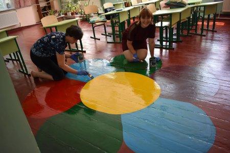 У трьох навчальних закладах Матусівської ОТГ завершуються планові ремонти