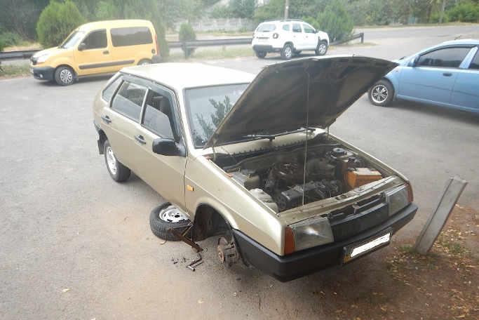 Світла дев'ятка з темним минулим: у Звенигородці виявили черговий автомобільний «фальсифікат»